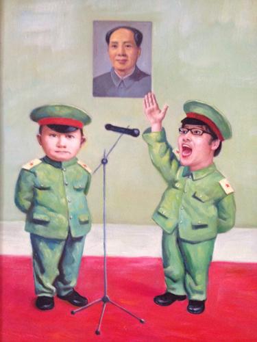 僕も中国の子供政治の仲間入り。